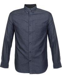 Matíníque - Trostol Check Dark Navy Shirt - Lyst