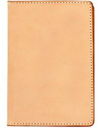 Tanner Goods - Natural Travel Wallet - Lyst