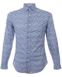 Dockers - The Laundered Blue Shirt - Lyst