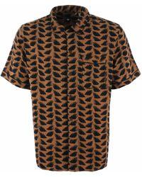 Levi's - Pyjama Shirt - Brush Stroke Multi - Lyst