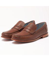 Grenson - Ashley Dark Brown Loafer Shoe - Lyst