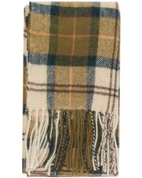Barbour - Ancient Tartan Lambswool Scarf - Lyst