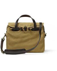 Filson - Original Briefcase - Tan - Lyst