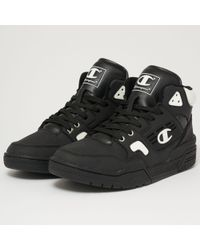 Champion - 3 On 3 Basketball Trainers - Black & White - Lyst