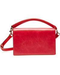 Diane von Furstenberg - Bonne Soiree Leather Shoulder Bag - Lyst