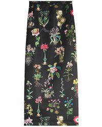N°21 - Printed Pencil Skirt - Lyst