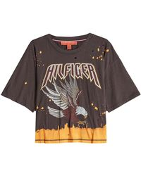 Tommy Hilfiger - Printed Cotton T-shirt - Lyst