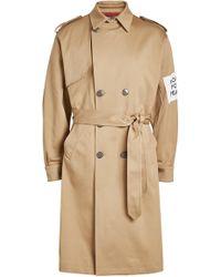 OAMC - Captain Cotton Trench Coat - Lyst