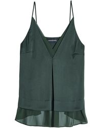 By Malene Birger | Layered Camisole With Chiffon | Lyst