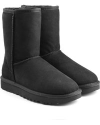 UGG - Classic Short Suede Boots - Lyst