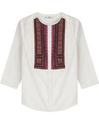 Day Birger et Mikkelsen - Cotton Cambric Blouse - Lyst