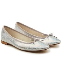 Repetto - Cendrillon Metallic Leather Ballerinas - Lyst