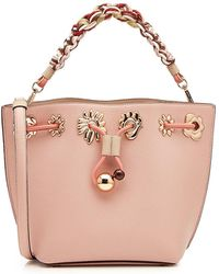 Sophia Webster - Romy Mini Flower Leather Bucket Bag - Lyst