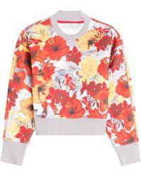 adidas By Stella McCartney - Running Blossom Sweatshirt - Lyst