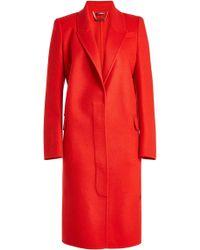 Alexander McQueen - Virgin Wool Coat With Cashmere - Lyst