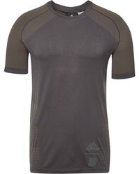 5a255a30298fe Lyst - adidas M Ss Ult Tee in Black for Men
