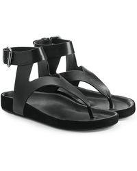 Isabel Marant | Elwina Leather Sandals | Lyst