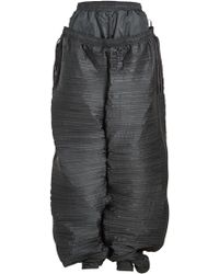 Y. Project - Ruched Jogger Pants - Lyst