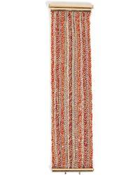 Carolina Bucci | 18k Gold/silk 15 Strand Lucky Bracelet In Red | Lyst