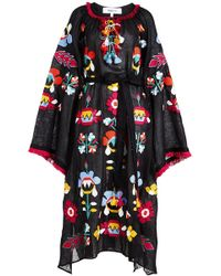 MARCH11 - Astrid Embroidered Linen Dress - Lyst