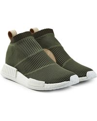 e82749ddb8de6 Lyst - adidas Originals Nmd cs1 Primeknit Sneakers in Black for Men