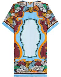 Emilio Pucci | Printed Silk Dress | Lyst