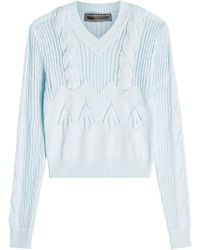 Versace - Cotton Pullover - Lyst