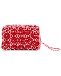 Shrimps - Domenica Beaded Purse - Lyst
