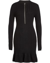 Moschino - Dress With Wool And Cashmere - Lyst