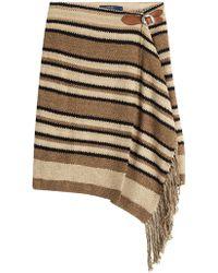Polo Ralph Lauren - Silk-cotton Blend Fringed Skirt - Lyst