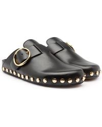 Isabel Marant - Mirvin Leather Mules - Lyst