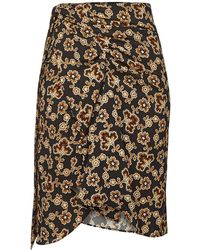 Étoile Isabel Marant - Loela Printed Wrap Skirt - Lyst
