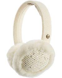 UGG - Lyla Wool Blend And Shearling Earmuffs - Lyst