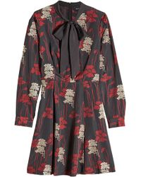 The Kooples | Embroidered And Printed Dress | Lyst