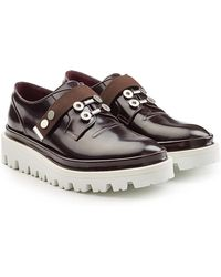 OAMC - Patent Leather Oxfords - Lyst