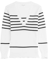 Sonia Rykiel - Striped Pullover With Wool - Lyst