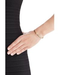 Jennifer Fisher - 14kt Yellow Gold Plated Bangle - Lyst