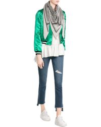 Lala Berlin   Printed Cashmere Scarf   Lyst