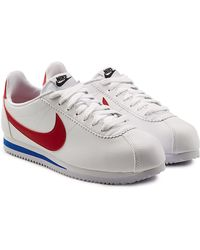 Nike - Cortez Leather Sneakers - Lyst