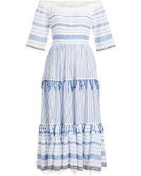 lemlem - Tiki Cotton Maxi Dress - Lyst
