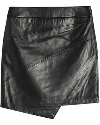 Zadig & Voltaire - Leather Skirt - Lyst