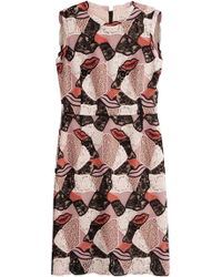 Emilio Pucci - Dress With Embroidered Mesh - Lyst