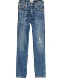 Citizens of Humanity - Cropped Jeans - Lyst