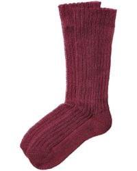 Etro - Ribbed Knit Socks - Lyst