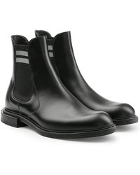 Fendi - Leather Ankle Boots - Lyst