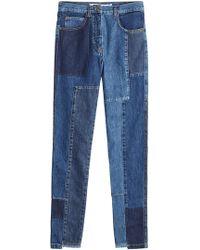 McQ Alexander McQueen | Patchwork Jeans | Lyst