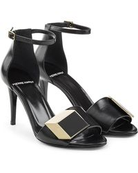 Pierre Hardy - Embellished Leather Sandals - Lyst