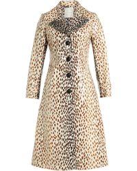 Marco De Vincenzo - Leopard Print Coat - Lyst