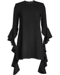 Ellery - Kilkenny Frill Sleeve Dress - Lyst