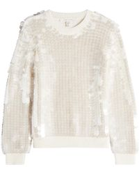 Marc Jacobs - Merino Wool Pullover With Sequins - Lyst